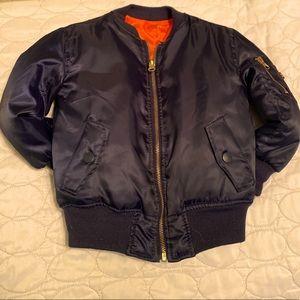 Other - Toddler Navy bomber jacket